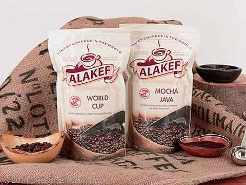Flavors established by blending multiple coffees and roasting them to perfection.