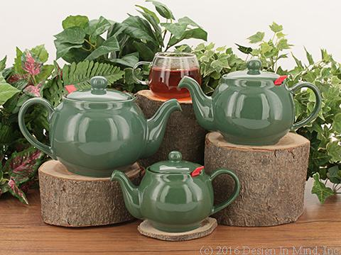 Chatsford Teapot - jade green
