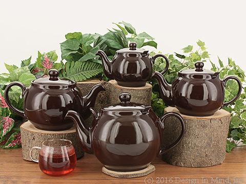 Chatsford Teapot - rockingham brown