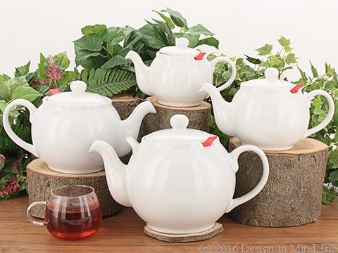 Chatsford Teapot - white