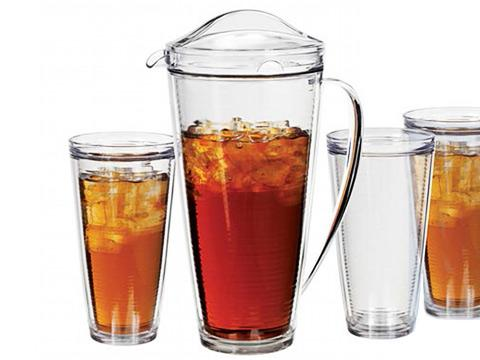 Insulated Pitcher and Tumbler Set