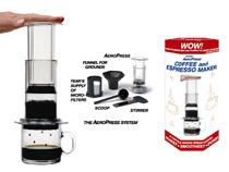 The ultimate, portable, low tech coffee experience.