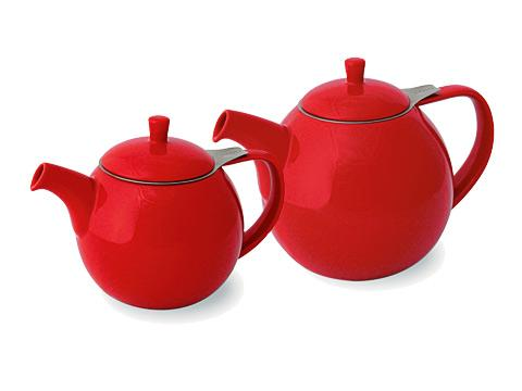 ForLife Curve teapot, red