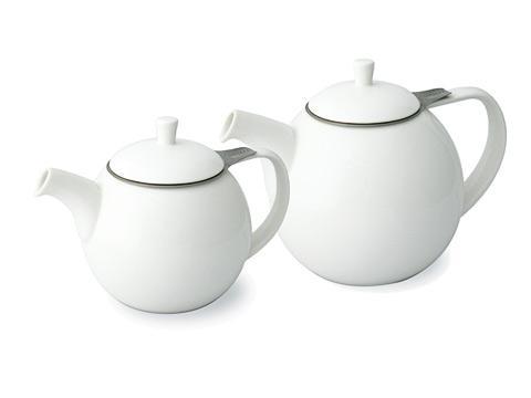 ForLife Curve teapot, white