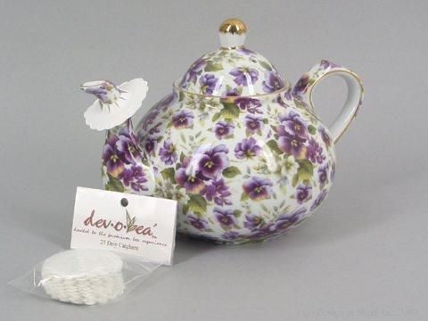 Drip catchers help avoid the mess of a drippy teapot.