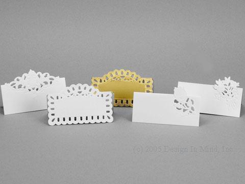 Diecut Placecards