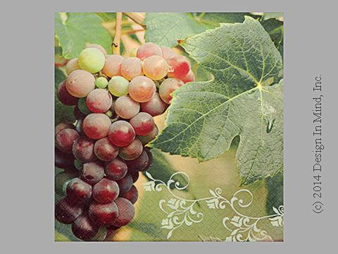Red Grapes napkin