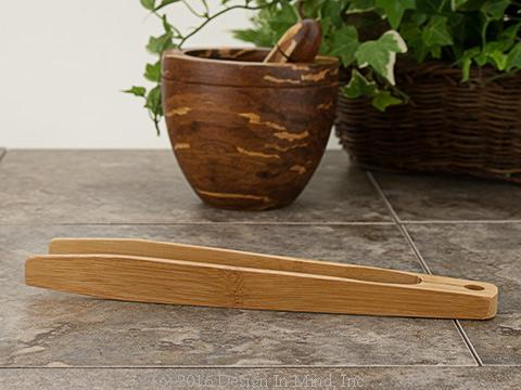 Bamboo Tongs - 10 inch