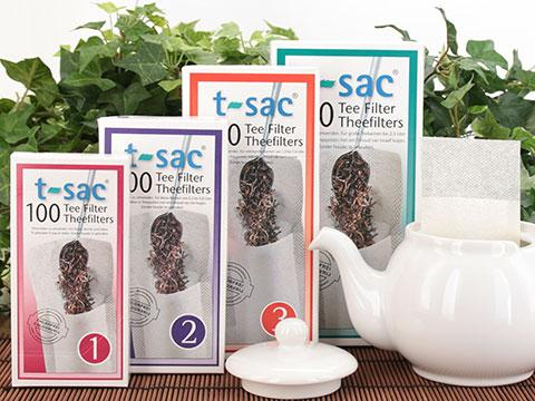 t-sac tea filters - 12 pack