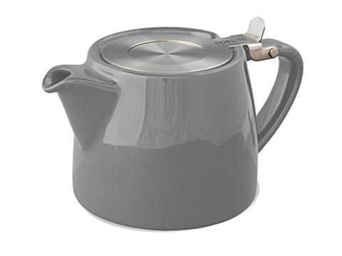 Stump teapot-gray