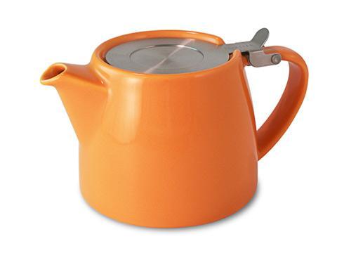 Stump teapot-carrot