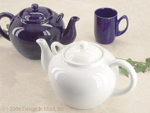 English style teapots for serving a crowd!