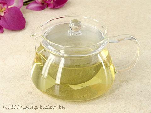 Japanese glass tea pot 18 oz.