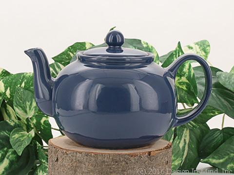Royal Blue RSVP Teapot