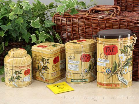 Colonial Tea Tin