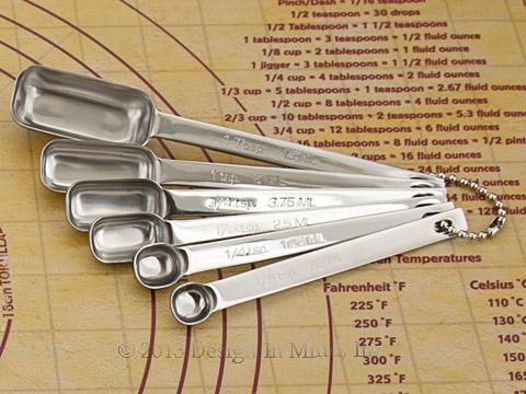 Measuring spoon 6 pc. set