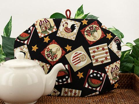 Tea Cozy - Country Squares