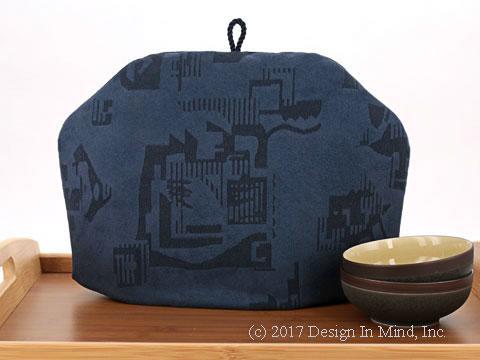 Tea Cozy - Aztec Blue