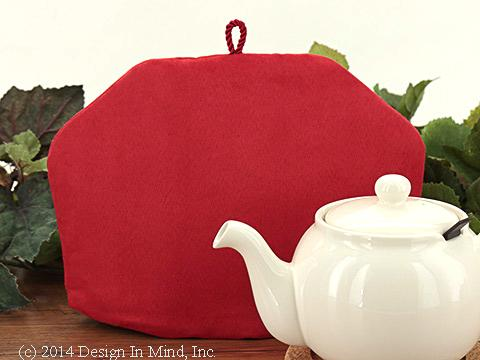 Tea Cozy - Poppy Suede