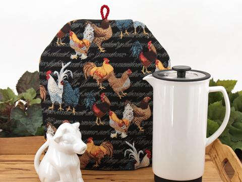Tea Cozy - Colonial Roosters