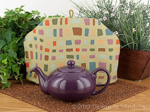 Tea Cozy - Meandering Mosaic