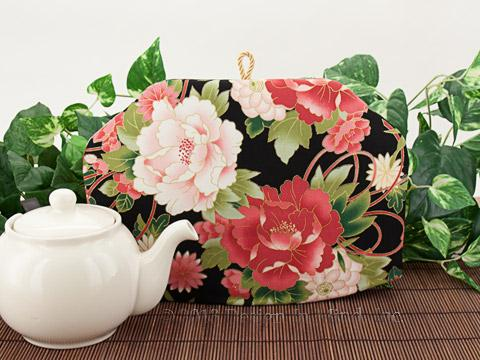Tea Cozy - Peonies and Bows