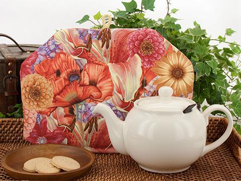 Tea Cozy - Poppy Lily Daisy More