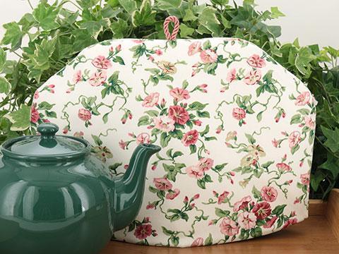 Tea Cozy - Trumpet Floral Pink