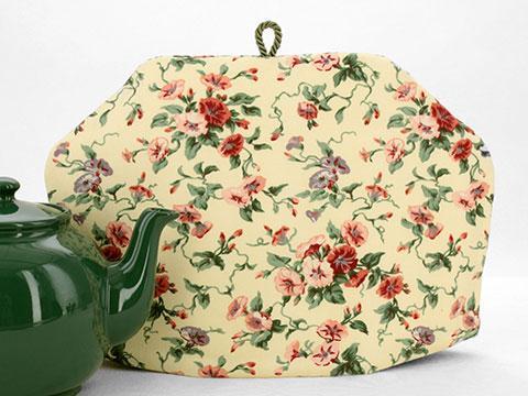 Tea Cozy - Trumpet Floral Buttercream