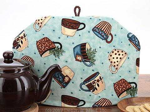 Tea Cozy - Teacup Toss Teal