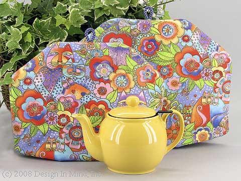 Tea Cozy - Kitty Love pastel