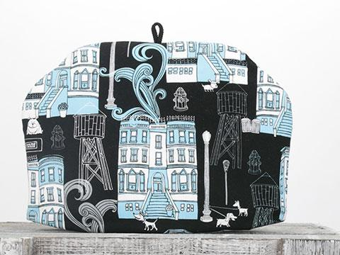 Tea Cozy - Chalk Town Blue
