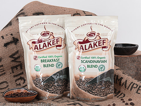 Coffees that carry organic and fair trade certification.