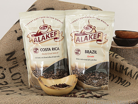 Great Arabica coffees from the primary coffee growing countries.