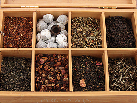 Devotea ™ brand loose teas carefully selected to ensure consistent, high quality.