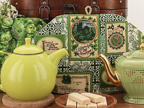 The Tea Quilt™ tea cozies keep tea hot and fresh up to 3 hours!