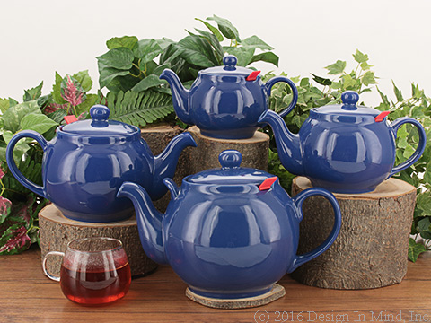 Chatsford Teapot - bright blue