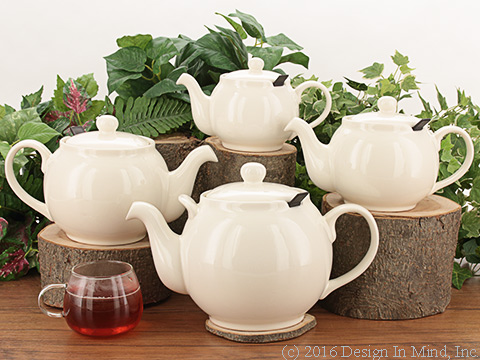 Chatsford Teapot - cream