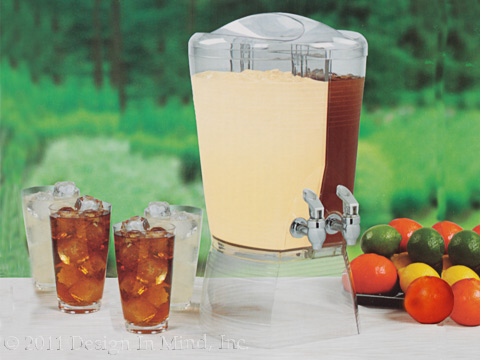 Double Beverage Dispenser
