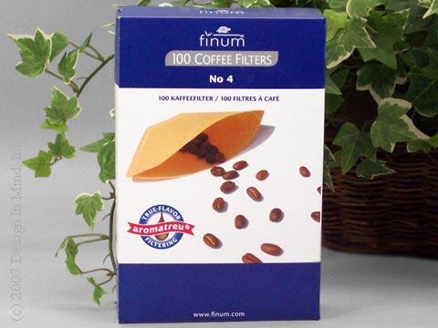 Finum #4 Coffee Filters