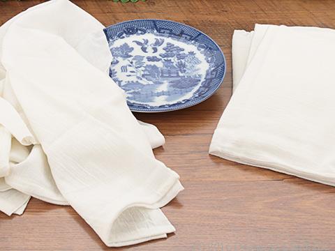 White Flour Sack Towels