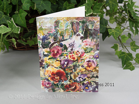 Blossom Buffet Notecards