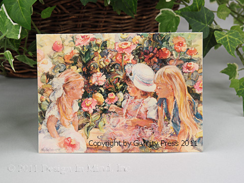Garden Girls Notecards