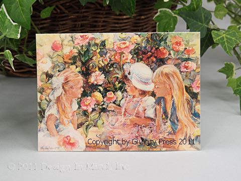 Garden Girls Notecards