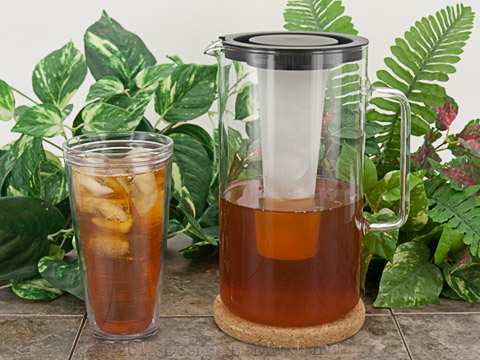 Perfect servers for iced tea and great for any cold summer beverage!