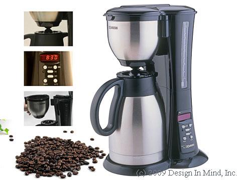 Zojirushi Fresh Brew Thermal Coffee Maker w/free 12 oz. coffee