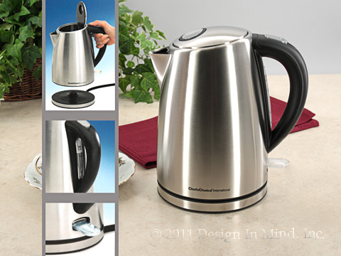 Cordless Electric Kettle - Chefs Choice