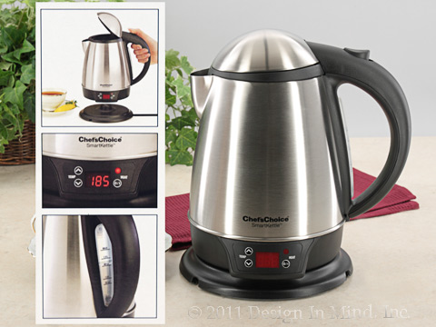 Cordless Electric SmartKettle - Chefs Choice