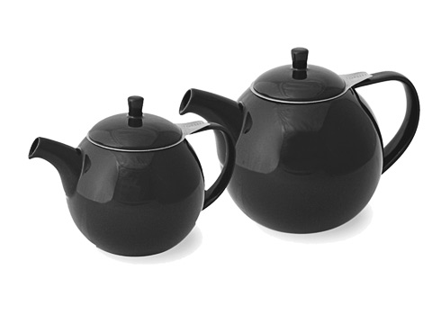 ForLife Curve teapot, black graphite