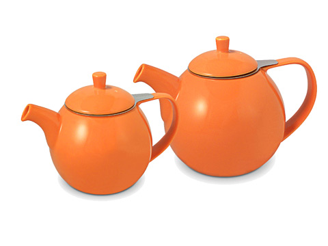 ForLife Curve teapot, carrot